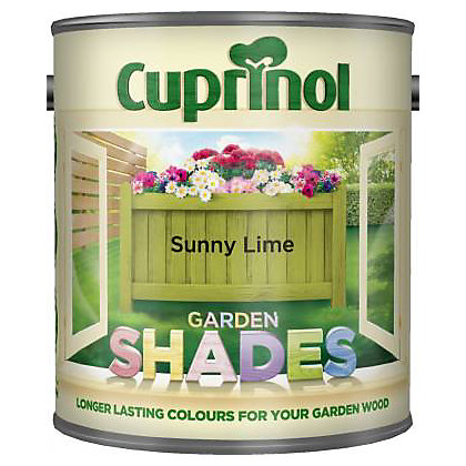 Image For Cuprinol Garden Shades Sunny Lime 1L From StoreName