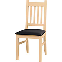 Cucina Pair of Dining Chairs - Light Oak