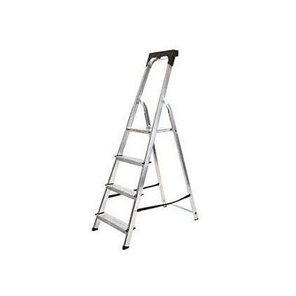 Image for Abru Stepladder 4 Tread with Tool Tray from StoreName