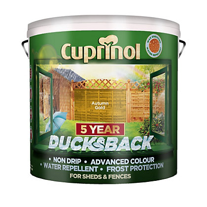 Image for Cuprinol Ducksback Autumn Gold - 9L from StoreName