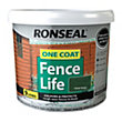 Ronseal One Coat Fence Life Forest Green - 9L