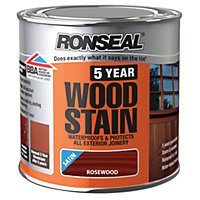 Ronseal 5 Year Woodstain Rosewood - 250ml