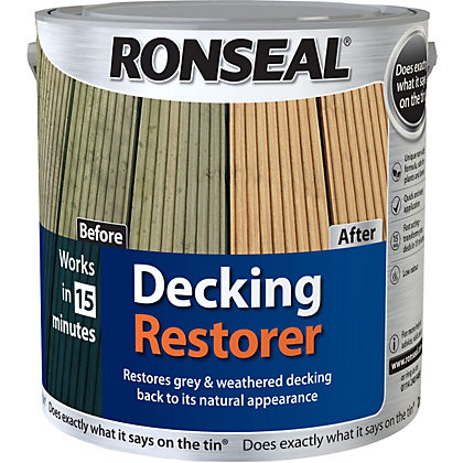 Image for Ronseal Decking Restorer - 2.5L from StoreName