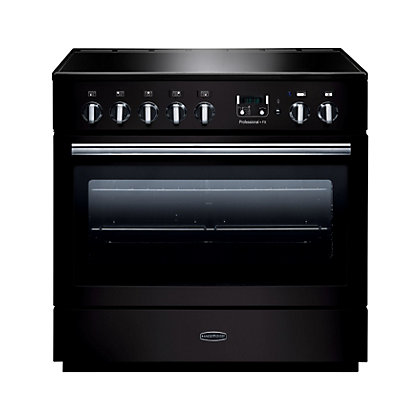 Image for Rangemaster Professional Plus FX 90cm Induction Range Cooker - Black from StoreName