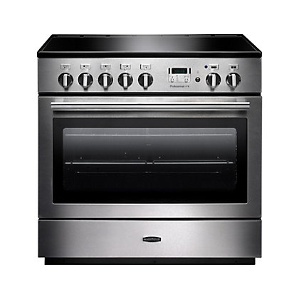 Image for Rangemaster 96300 Professional Plus FX 90cm Induction Range Cooker - Silver from StoreName