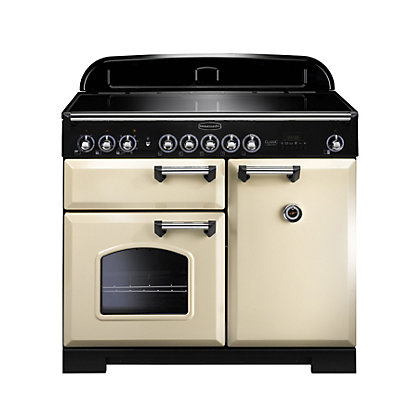 Image for Rangemaster Classic Deluxe 100cm Induction Range Cooker - Cream from StoreName