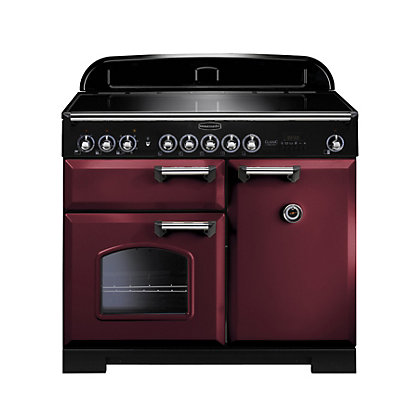 Image for Rangemaster Classic Deluxe 100cm Induction Range Cooker - Purple from StoreName
