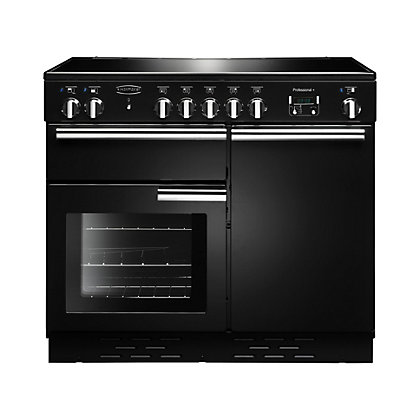 Image for Rangemaster Professional Plus 100cm Induction Range Cooker - Black from StoreName