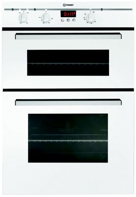 Image of Indesit FIMD23WHS Built-In Double Fan Oven - White