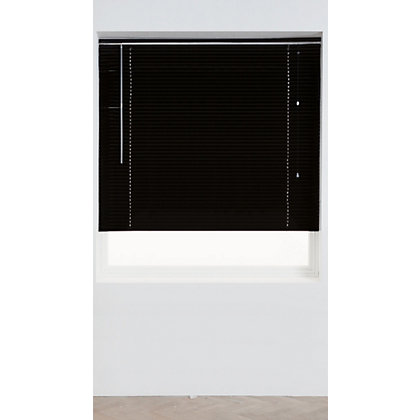Image for Home of Style Black Aluminium 25mm Venetian Blind - 90cm from StoreName