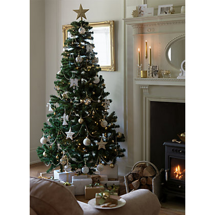 Image for Green Montana 7ft Christmas Tree from StoreName