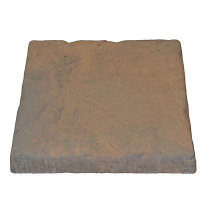 Image for Brett Walton Paving Single Size Patio Pack 600x600mm 11.91sq m 32 Pack - Copper Glow from StoreName