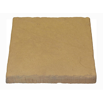 Image for Brett Walton Paving Single Size Patio Pack 600x600mm 11.91sq m 32 Pack - Warm Silk from StoreName