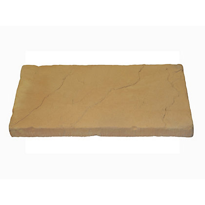Image for Brett Walton Paving Single Size Patio Pack 600x300mm 12.10sq m 64 Pack - Warm Silk from StoreName