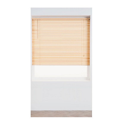 Image for Home of Style Natural Wood 25mm Venetian Blind - 90cm from StoreName