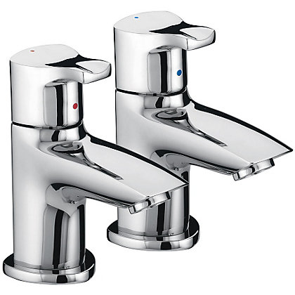Image for Bristan Capri Basin Taps from StoreName