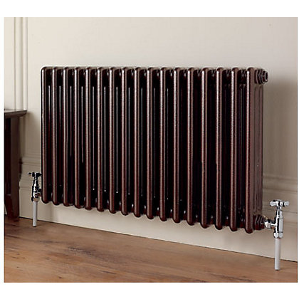 Colonna 3 Column Black Radiator 602 X 1194mm
