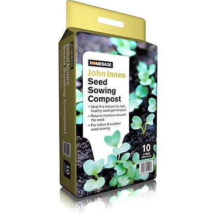 Image for Homebase John Innes Seed Germination Compost - 10L from StoreName