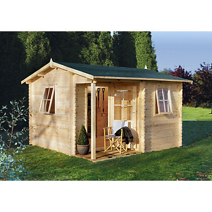 Image for Forest Malvern Log Cabin - 11ft 10in x 11ft 10in from StoreName