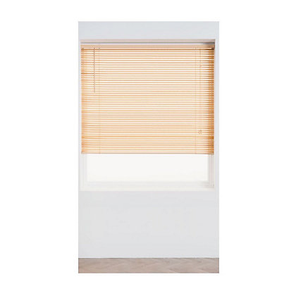 Image for Home of Style Natural Wood 25mm Venetian Blind - 120cm from StoreName