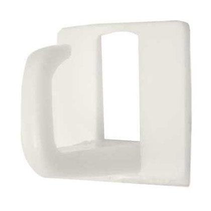 Image for Small Self-adhesive Cup Hook - White - 4 Pack from StoreName