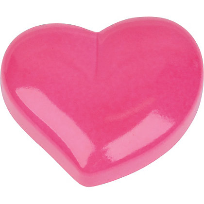 Image for Heart Shaped Door Knob - Hot Pink - 2 Pack from StoreName