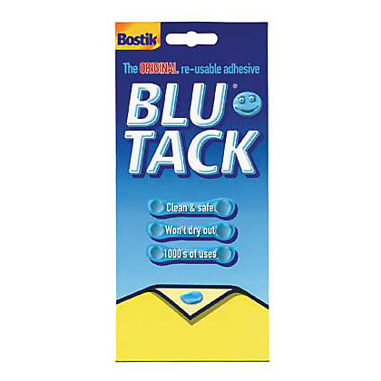 Bostik Blue Tack Economy Adhesive Large Pack