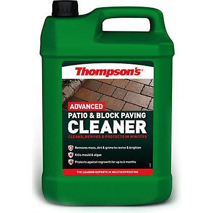 Image for Thompsons Patio And Paving Cleaner - 5L from StoreName