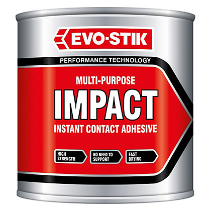 Image for Evo-Stik Impact Adhesive tin - 250ml from StoreName