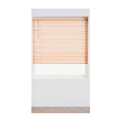 Image for Home of Style Oak Wood 25mm Venetian Blind - 60cm from StoreName