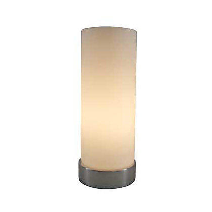 Image for Cancun Touch Table Lamp - Chrome Finish/Frosted Glass - 24.5cm from StoreName