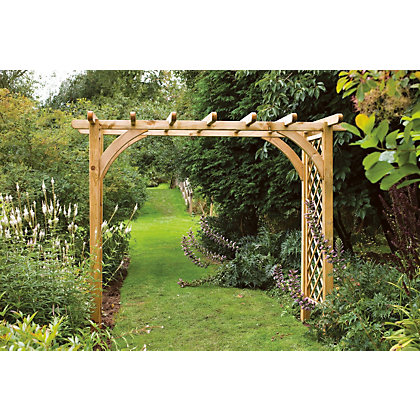 Image for Forest Large Ultima Pergola Garden Arch from StoreName