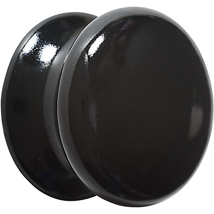 Image for Ceramic Knob - Black - 35mm from StoreName