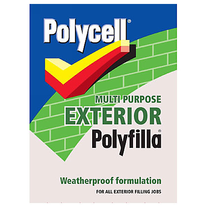 Image for Polycell Multipurpose Exterior Polyfilla - 1.75kg from StoreName