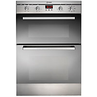 Indesit FIMD E 23 IX S Built-in Double Oven - Stainless Steel
