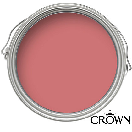 Image for Crown Fashion For Walls Coral - Indulgence Matt Emulsion Paint - 125ml Tester from StoreName