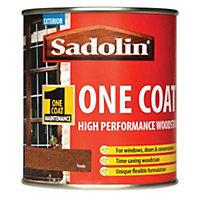 Sadolin Advanced One Coat Woodstain - Teak - 500ml