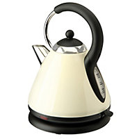 Home of Style 1.8L Pyramid Kettle - Cream
