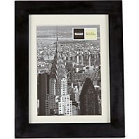 Black Gloss Photo Frame - 4 x 6in