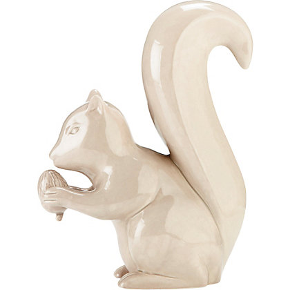 Image for Taupe Squirrel Ornament from StoreName