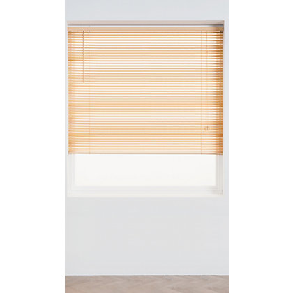 Image for Home of Style Oak Wood 25mm Venetian Blind - 120cm from StoreName
