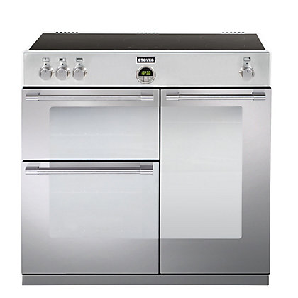 Image for Stoves Sterling 900EI Induction Hob Range Cooker - Stainless Steel from StoreName