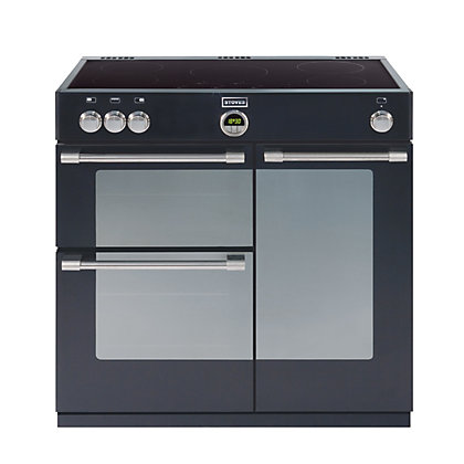 Image for Stoves Sterling 900EI Induction Hob Range Cooker - Black. from StoreName