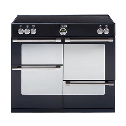 Image for Stoves Sterling 1000EI Induction Hob Range Cooker - Black. from StoreName