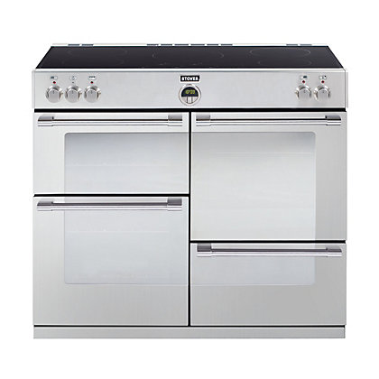 Image for Stoves Sterling 1100EI Induction Hob Range Cooker - Stainless Steel from StoreName