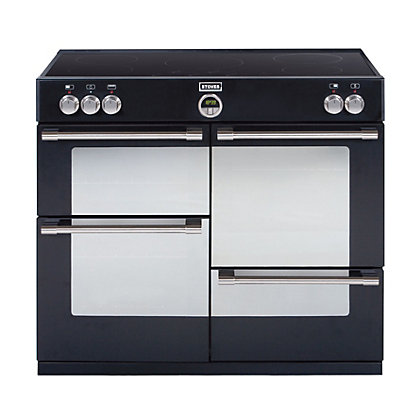 Image for Stoves Sterling 1100EI Induction Hob Range Cooker - Black. from StoreName