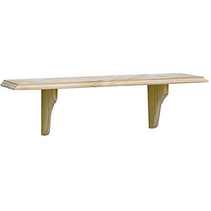 Image for Unfinished Pine Shelf Kit - 90cm from StoreName