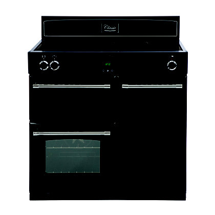Image for Belling Classic 90Ei Induction Hob Range Cooker - Black from StoreName