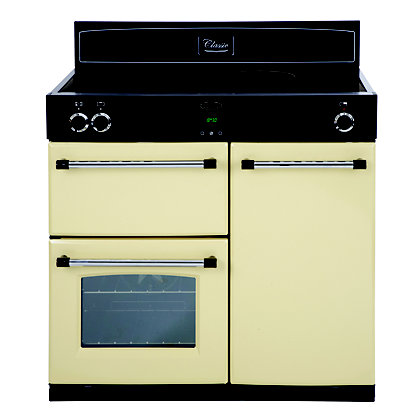 Image for Belling Classic 90Ei Induction Hob Range Cooker - Cream from StoreName