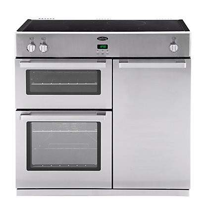 Image for Belling DB4 90Ei Professional Range Cooker - Stainless Steel from StoreName